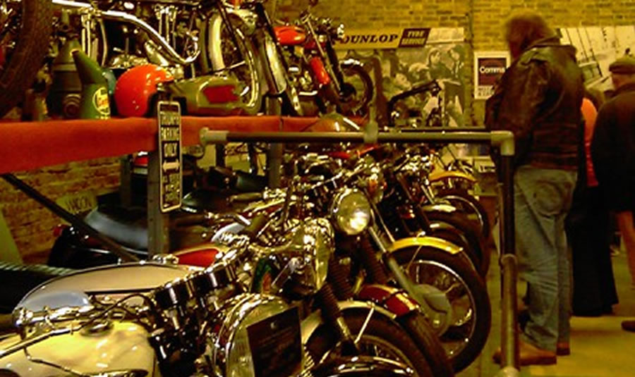 London Motorcycle Museum Nov 2016